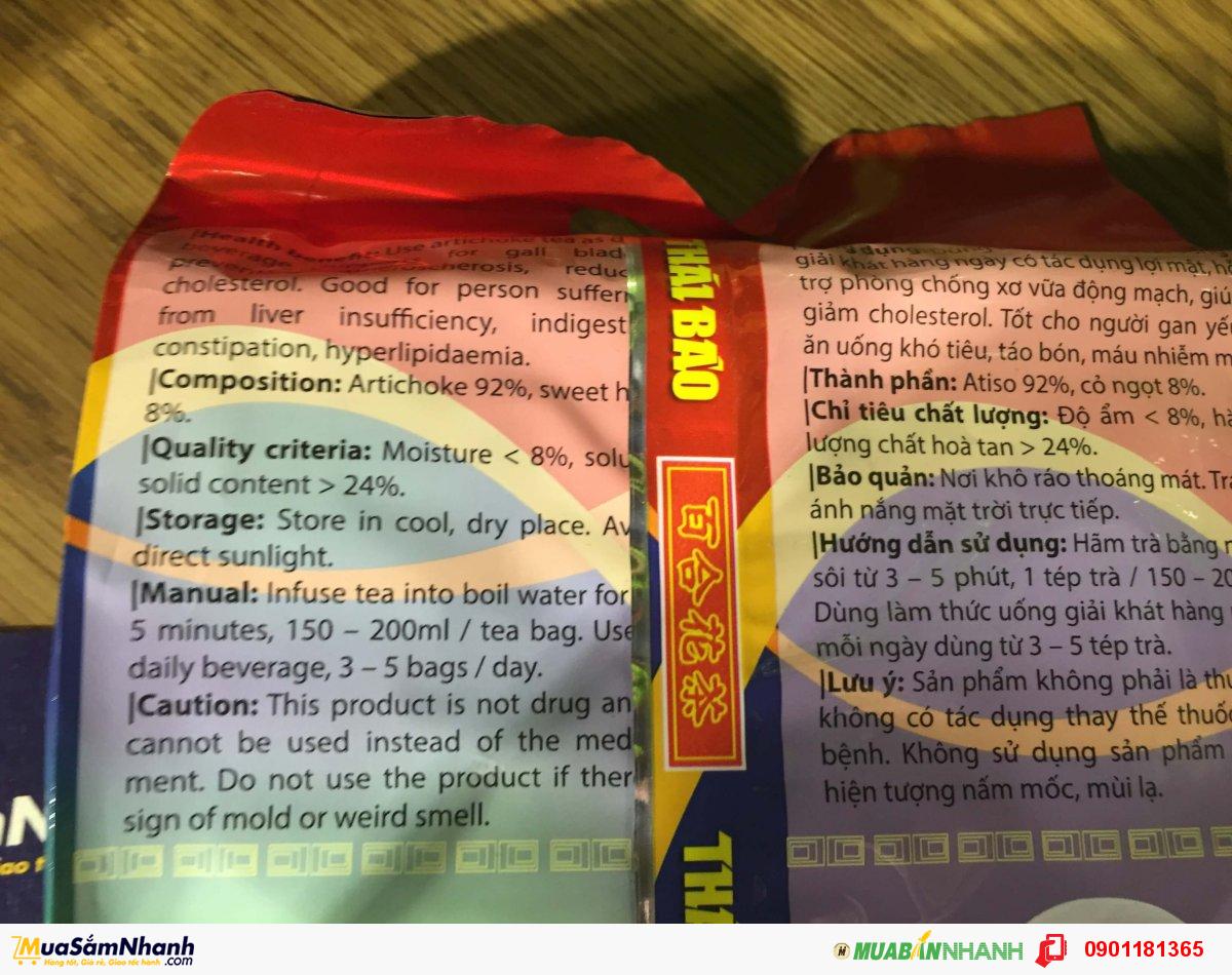 Trà atiso túi lọc Thái Bảo 100 tép