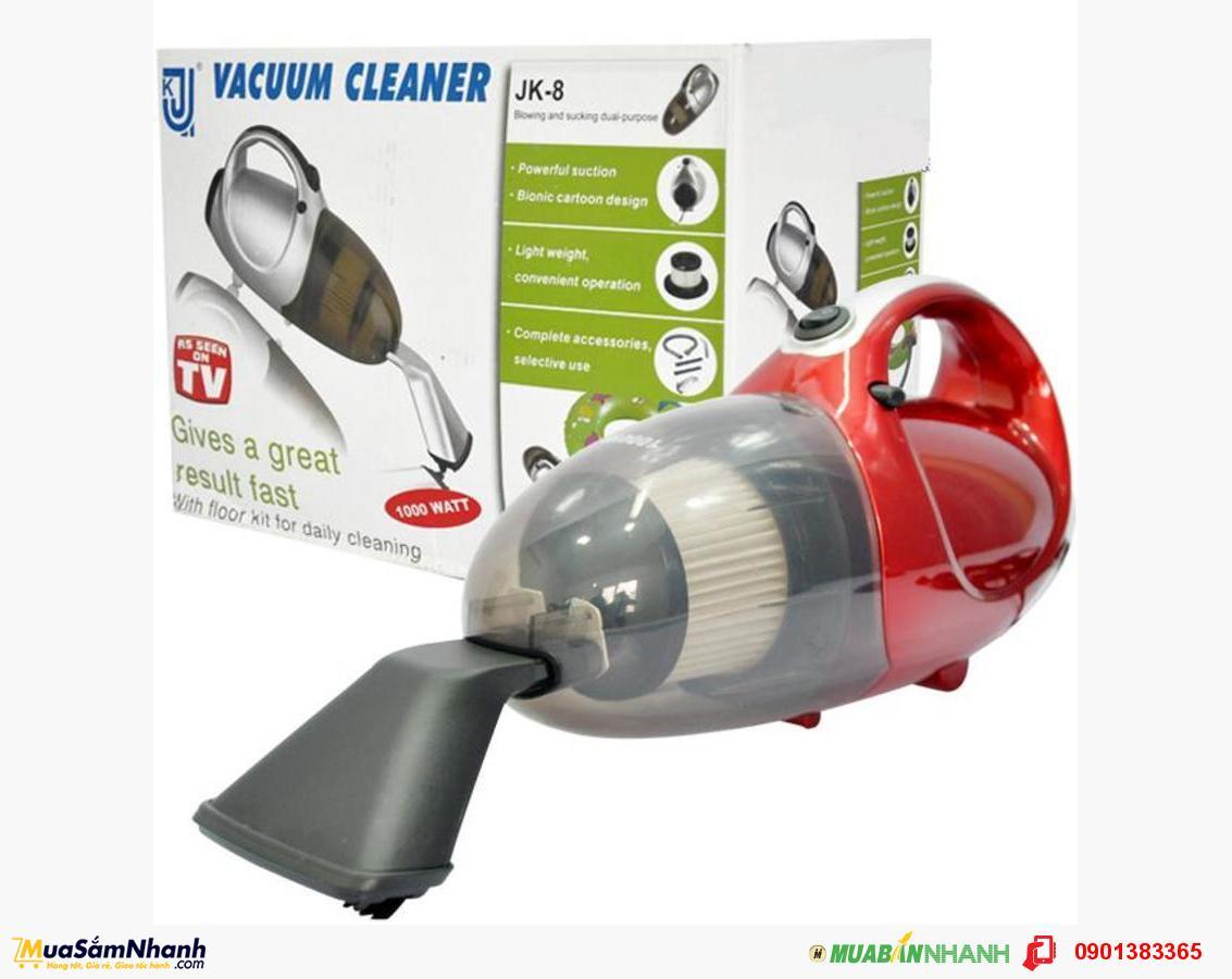 Máy hút bụi JK8 cầm tay đa năng hút và thổi Vacuum Cleaner JK08