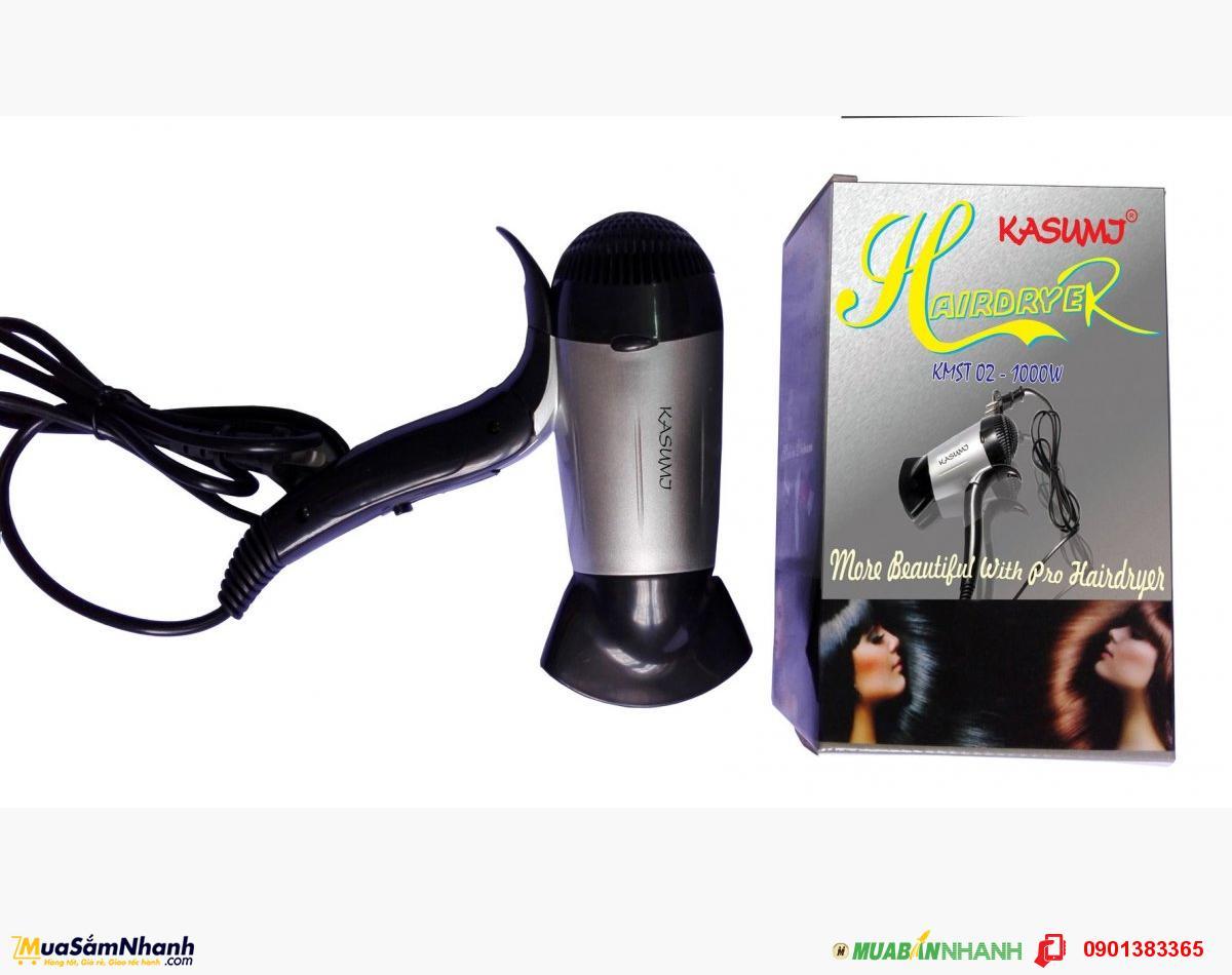 Máy sấy tóc Kasumi KMST-02 ( Đen phối xám ) - MSN388023