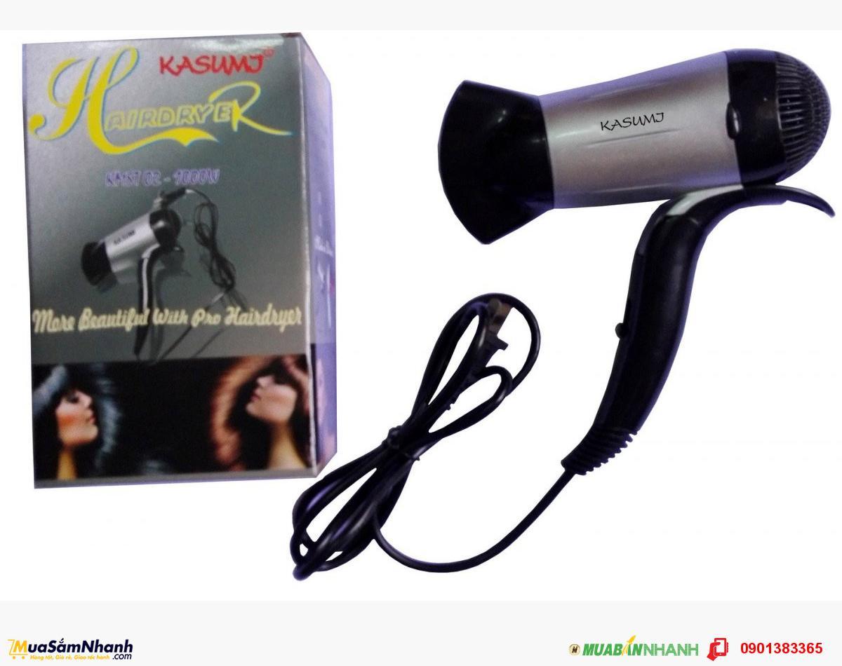 Máy sấy tóc Kasumi KMST-02 ( Đen phối xám )