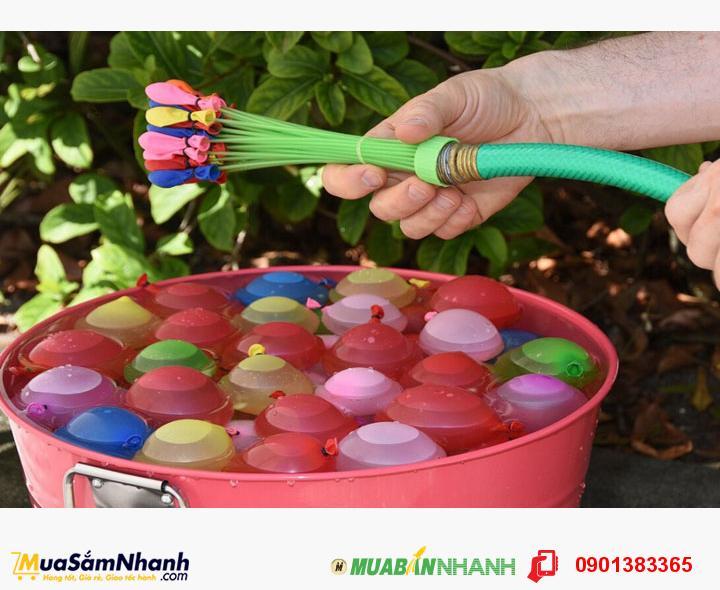 Bộ 111 bong bóng nước MAGIC BALLOONS nhiều màu, cho bé thỏa sức vui chơi