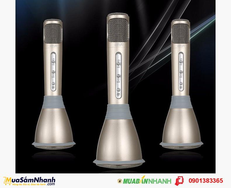 Micro Liền loa Karaoke k068 - Chất lượng âm thanh tuyệt hảo