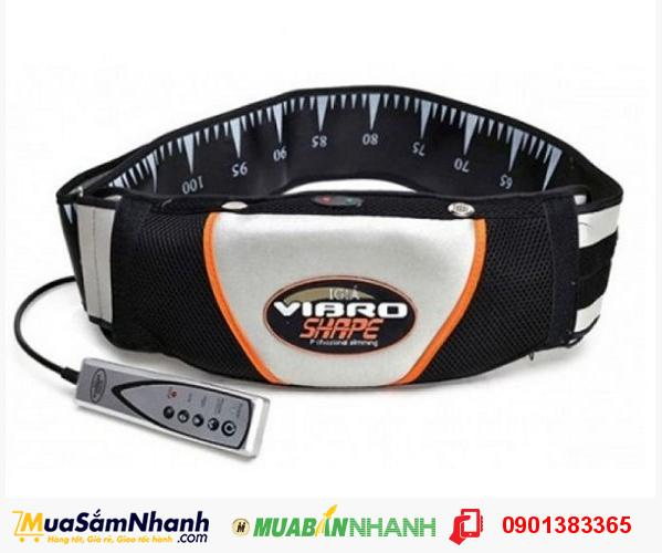 Đai massage bụng Vibro Shape Perfect - Máy massage giảm mỡ hiệu quả