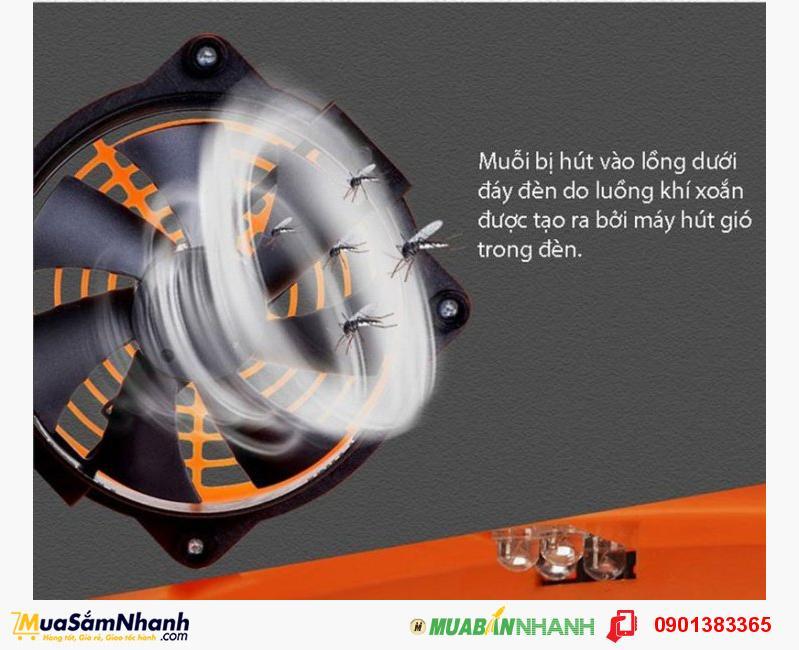Đèn bắt muỗi tia UV GERONE vô cùng hiệu quả, bảo vệ an toàn cho gia đình bạn
