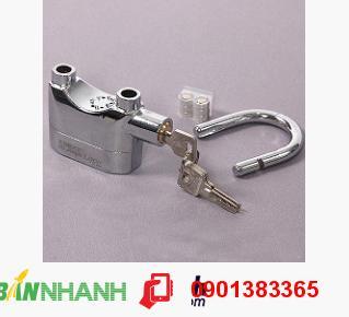 Ổ khoá chống trộm thông minh Kinbar (trắng), ổ khóa chống trộm hiện đại - MSN383131