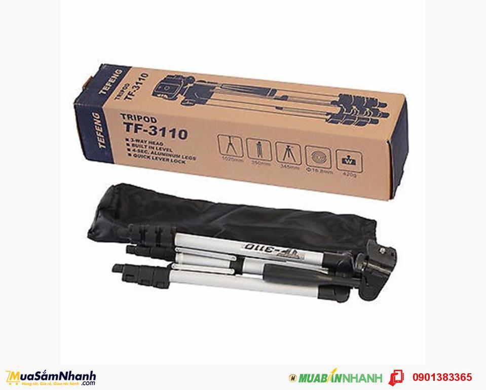 Giá Đỡ 3 Chân Đế Chụp Hình Tefeng Tripod, đồ dùng tiện ích cho dân du lịch  - MSN383132