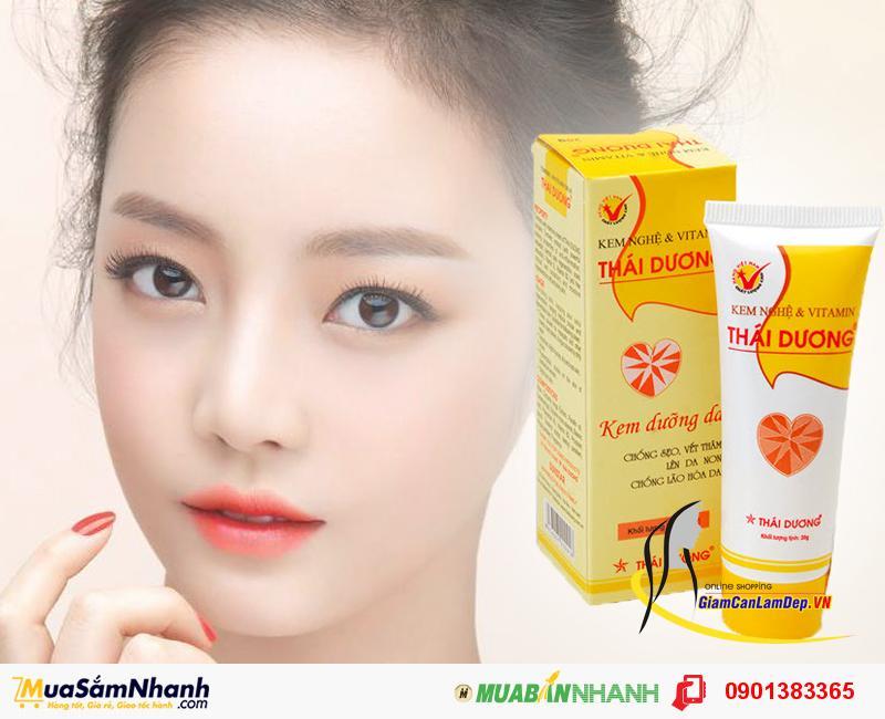 Kem Nghệ và Vitamin Thái Dương - Kem Nghệ Dưỡng Da