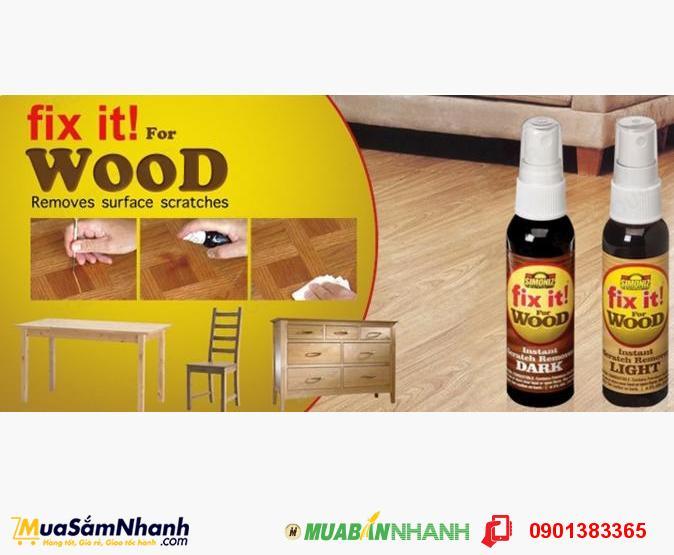Chai Xịt Fix It For Wood Làm Mới, Xóa Xước Trên Gỗ - MSN383144