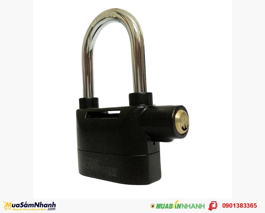 Khóa chống trộm báo động thông minh càng dài - MSN383145
