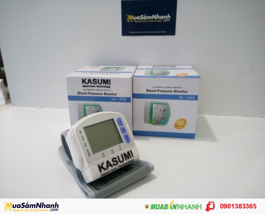 Máy đo huyết áp cổ tay KASUMI (TRẮNG)