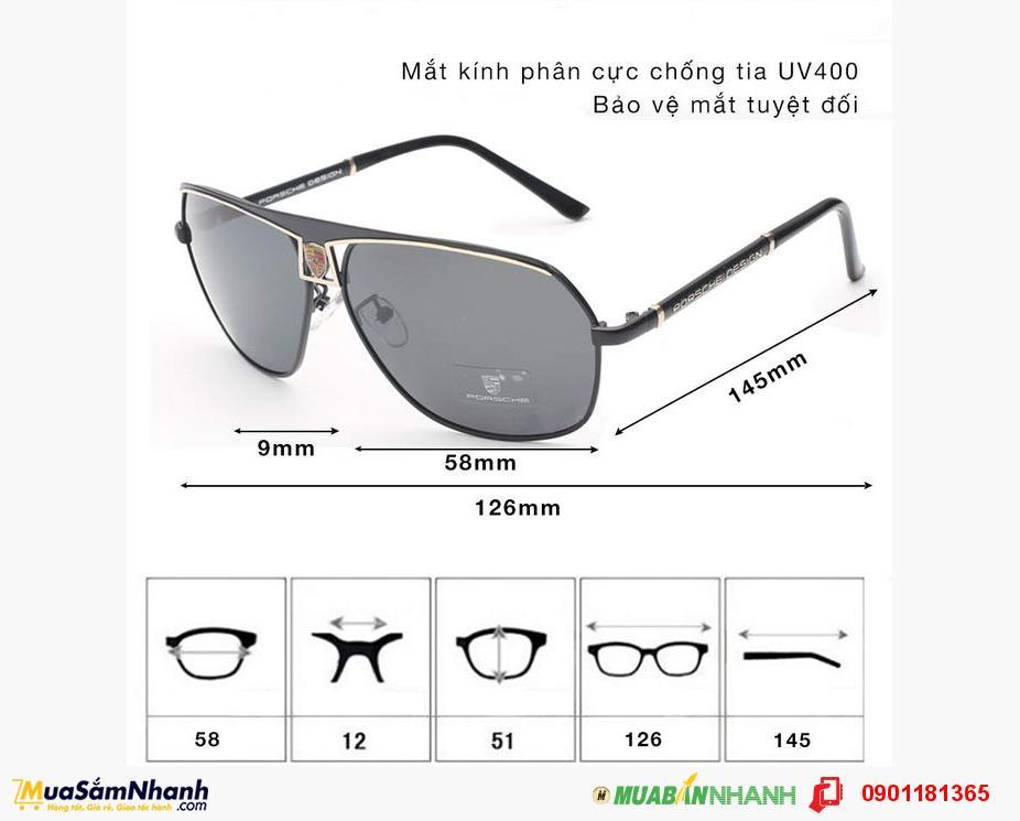 Mắt kính Porsche Cao Cấp - Đẳng cấp phái mạnh - MSN1830019