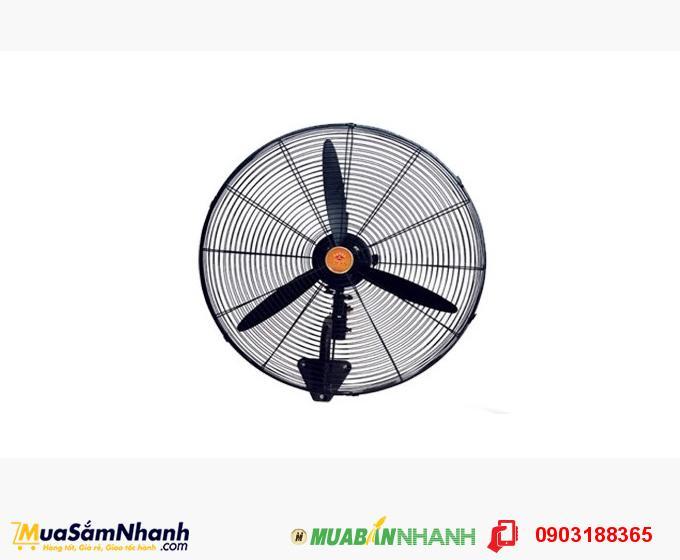 Quạt treo tường công nghiệp Lifan sải cánh rộng 64cm, công suất hoạt động 110W - MSN188033