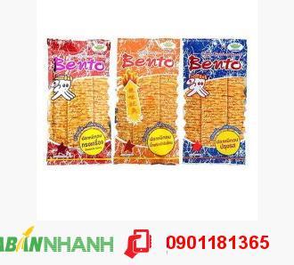 Combo 5 gói Mực Bento Đủ Vị Nhập Thái. Gói 20g - MSN181102