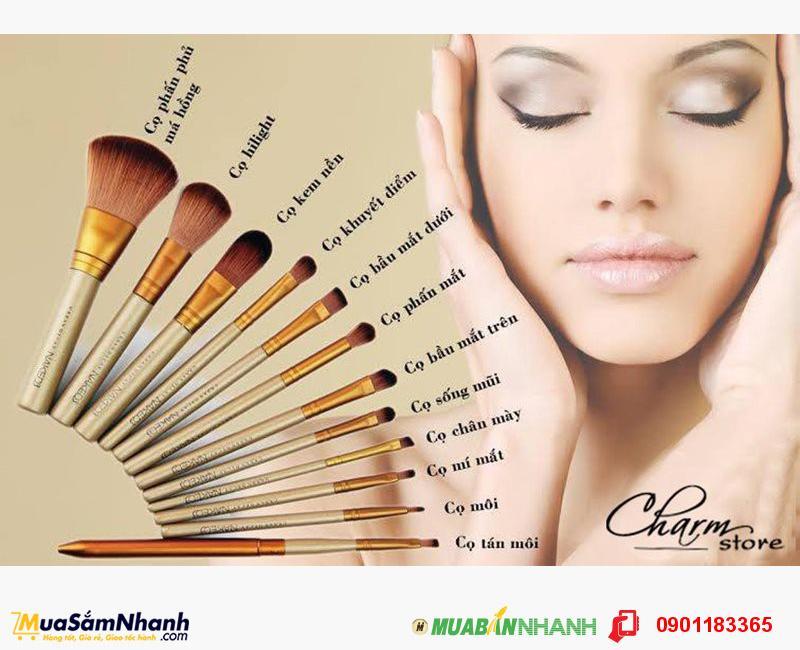 Bộ cọ trang điểm 12 cây NAKED Fashion - Quà tặng cho phái đẹp - MSN1830379