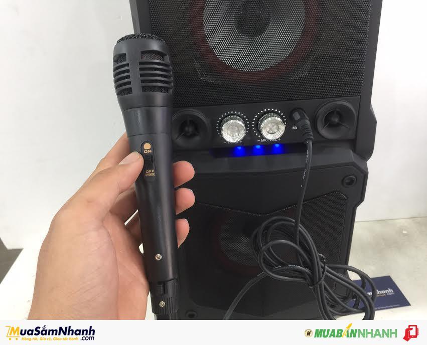 Loa Kéo Xách Tay Di động Bluetooth Speaker S58 - Thích Hợp Đi Dã Ngoại Tặng Kèm Micro - MSN181093