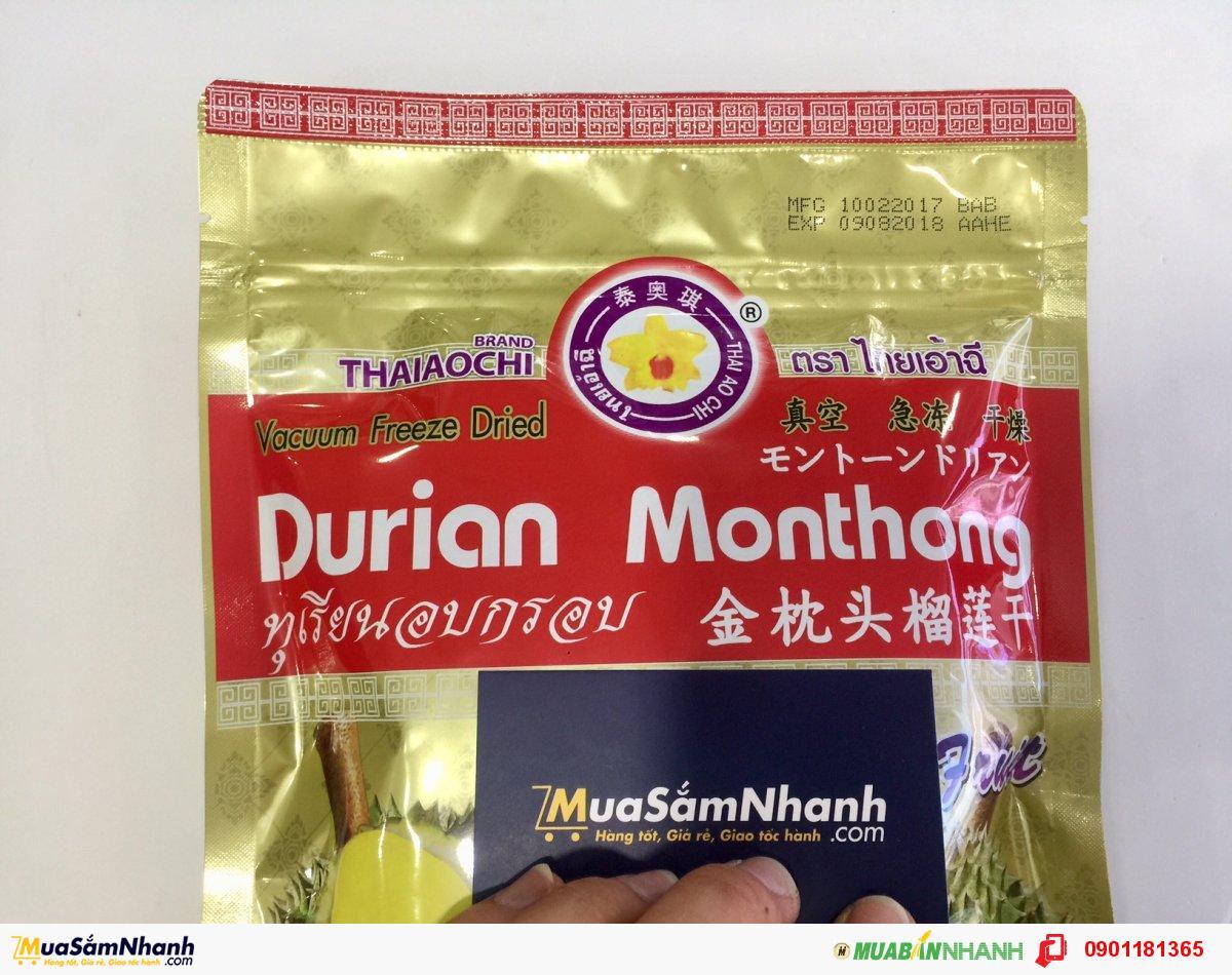 Sầu Riêng Sấy Khô Thái Lan Durian Monthong Thaiaochi - MSN181148