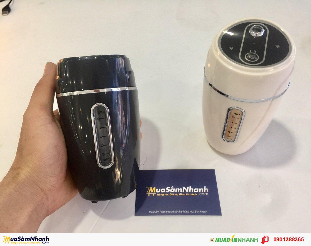 Máy Phun Sương Mini Air Humidifier Sử Dụng Cho Ô Tô + Trong Nhà + Văn Phòng,Tặng Kèm Cốc Sạc - MSN388097