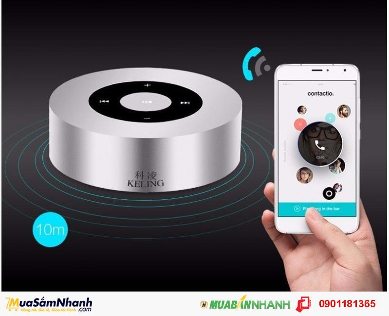 Loa Bluetooth KELING A8, Màn hình cảm ứng, Nhỏ Gọn, Âm Thanh Chuẩn HD - MSN181155