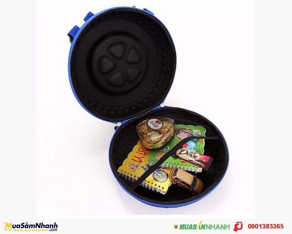 Balo Bánh Xe 3D đựng sách vở ,quần áo của con yêu ,đường kính 25cm -27cm.