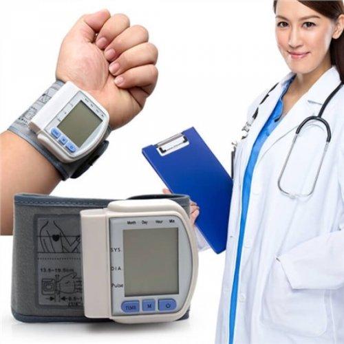 Máy đo huyết áp cổ tay KASUMI (TRẮNG) - Đo...
