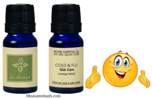 Tinh Dầu La Champa giải cảm Cold & Flu nguyên...