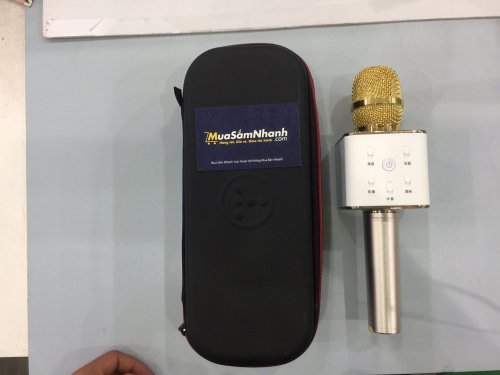 Micro Karaoke TUXUN Q7 kiêm loa Bluetooth