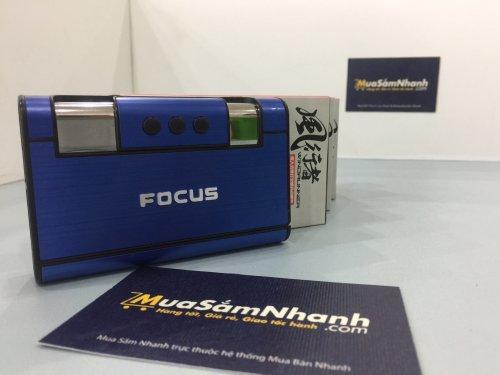 Hộp đựng thuốc lá Focus kiêm bật lửa sang...
