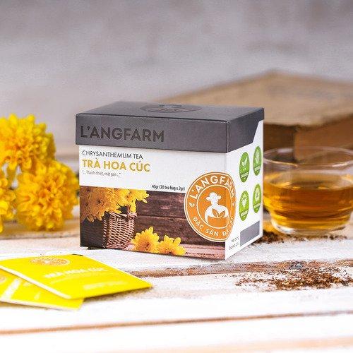 Một vài công dụng tuyệt vời của trà hoa cúc