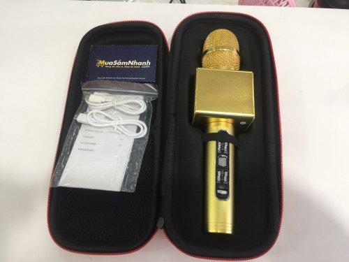 Micro karaoke Bluetooth X6 Hàng Chính Hãng...