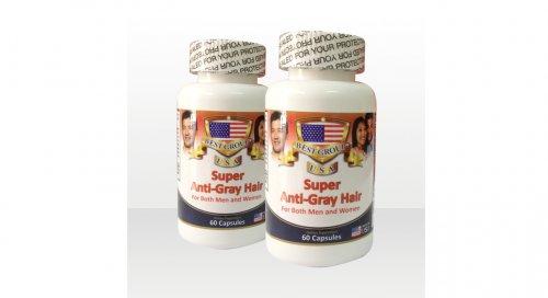 Viên uống Anti Gray Hair đặc trị tóc bạc sớm...