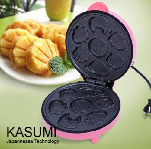 Máy nướng bánh hình thú đa năng Kasumi (vàng)