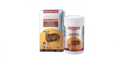 Nhau thai cừu Purarose (3000mg x 60 viên)...
