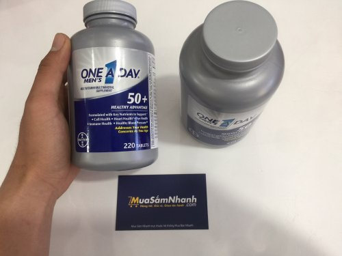 One A Day Men's 50+ Healthy Advantage - Thực...