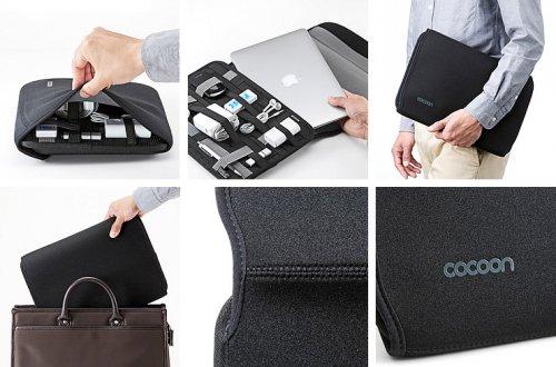 Túi Đựng Laptop, IPad Cocoon, Thiết Kế sợi...