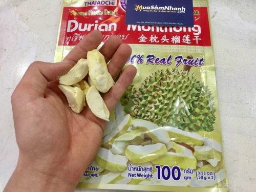 Sầu Riêng Sấy Khô Thái Lan Durian Monthong