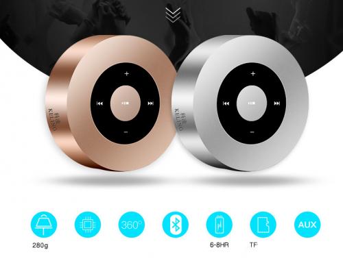 Loa Bluetooth KELING A8, Màn hình cảm ứng,