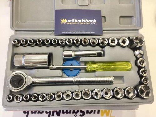 Bộ dụng cụ sửa chữa đa năng Aiwa 40 MÓN cho xe máy, ô tô - MSN383196