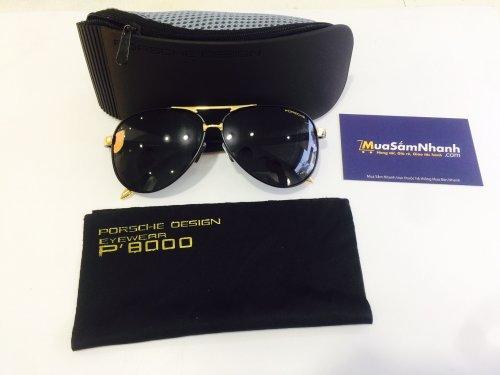 Mắt kính Porsche P8000 Cao Cấp Chống UV Tặng Kèm Hộp Sang Trọng - MSN1830020
