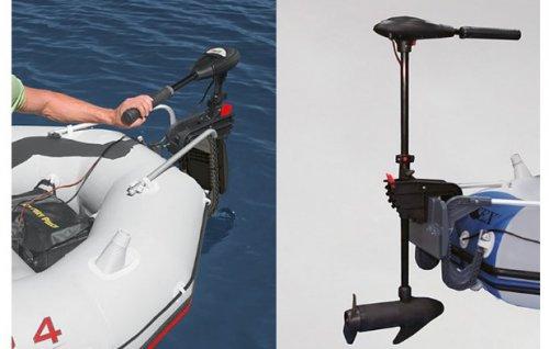 Mô tơ điện ắc quy thuyền bơm hơi INTEX
