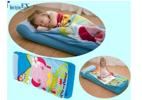 Bộ chăn gối đệm hơi túi ngủ trẻ em INTEX