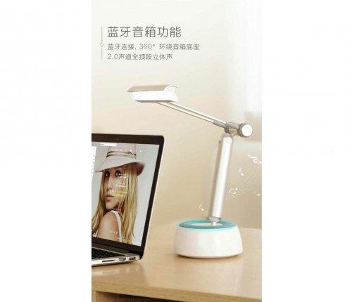 Đèn Bàn 3 in 1 Kiêm Loa Bluetooth Và Giá Đỡ IPad RECCI M-Show RBS-C1 - MSN181259