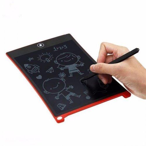 Bảng vẽ viết, Bảng nháp Tự Xóa Thông Minh Không Mực ,không bụi Phấn, màn LCD 8.5 inch + Tặng kèm pin  - MSN388259