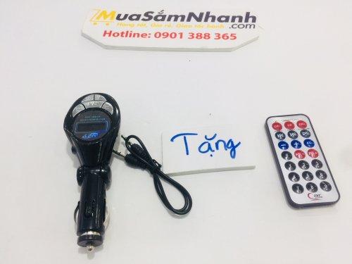 USB Bluetooth Đa Năng Cho Ô tô Car Mp3 Player 2 + Tặng kèm Remote - MSN181281