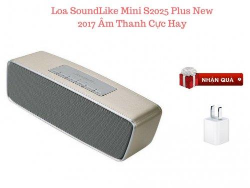 Loa Bluetooth SoundLike mini S2025+ Âm Thanh Cực Hay Tặng + Cóc Sạc - MSN181306