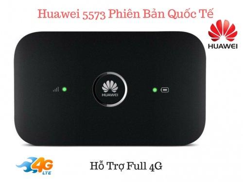 Thiết bị phát wifi từ 3G/4G Huawei E5573 - Phiên bản Quốc Tế ,Tốc Độ 150Mbps  - MSN181178