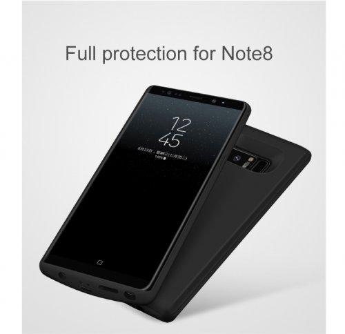 Ốp Lưng Kiêm Pin Sạc Dự Phòng Samsung Note 8 JLW-Note 8 6500mAh - MSN181328