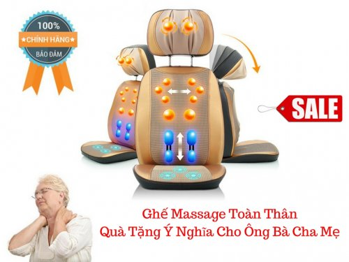 Đệm Massage Toàn Thân Đa Chức Năng Deluxe Massage Cushion - MSN388328