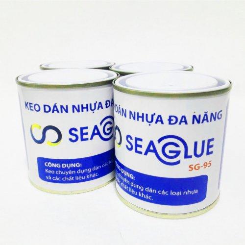 Keo dán vá nhựa, chống thấm siêu dính Seaglue SG-95 300ml - SG95