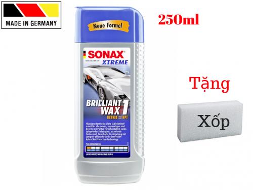 Dung Dịch Đánh Bóng Sơn Xe Sonax Wax 1 201100 Nhập Đức 250ml