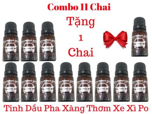 Combo 11 Lọ Phụ Gia Tinh Dầu Thơm Cao Cấp Cho Xe Máy 4 Thì Và 2 Thì - MSN388380